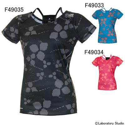 アディダス (adidas) レディース 蘭 Tシャツ2 S/S AML27 [分類:ランニング Tシャツ (レディース)]の画像