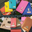 ❤Customized Gift❤ Customized/Personalized Handmade Passport Holders (Cover) ✈Gift ✈Travel