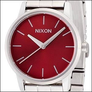 NIXON ニクソン 腕時計 A361-1260 レディース SMALL KENSINGTON スモールケンジントン DARK RED ダークレッドの画像