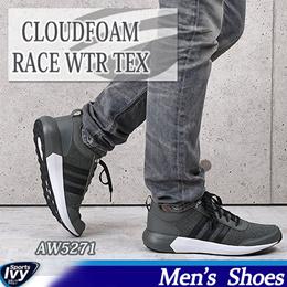 【アディダス】 CLOUDFOAM RACE WTR TEX AW5271 ADIDAS 【2016年秋冬 新作】 ランニング シューズ カジュアル スニーカー セール 8000円以上送料無料