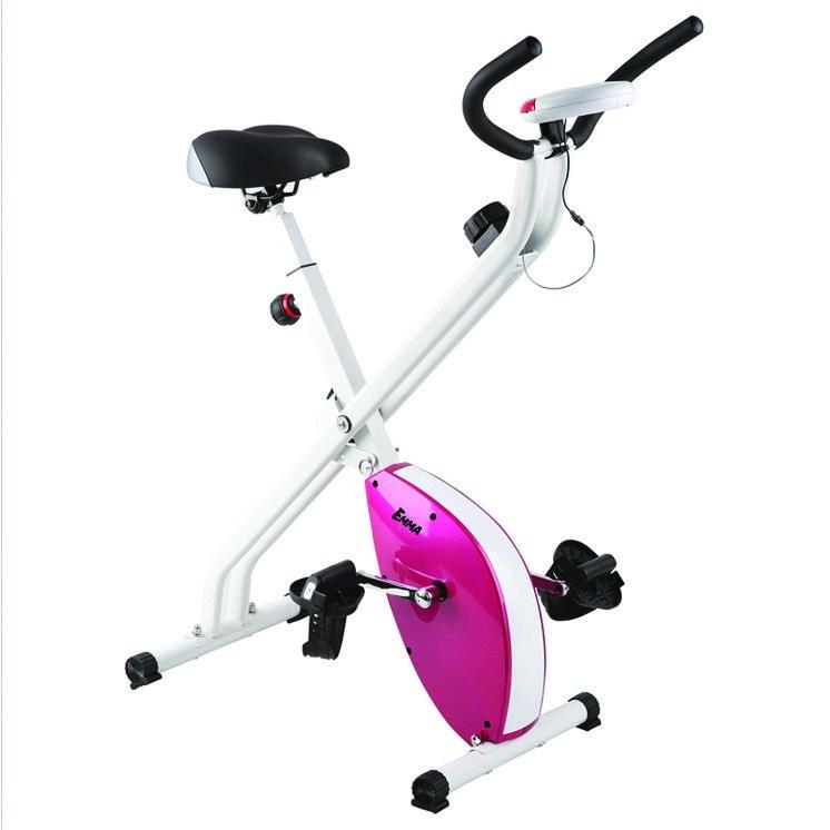 Exercise Bike Portable: Foldable Exercise Gym Stationary Bike Portable
