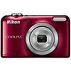 ニコン デジタルカメラ COOLPIX L31 レッド