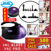 【JML 】Blast Vac Pro - Powerful Vacuum and Blower 2in1 (AS SEEN ON TV)
