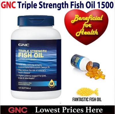 Qoo10 75 off retail star buy gnc triple strength fish for Gnc triple strength fish oil 1500