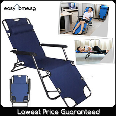 Best Offer! No Option Price! Foldable Chair/Portable Sleeping Bed/Office/Camping/Fishing/Picnic Deals for only S$49.9 instead of S$0