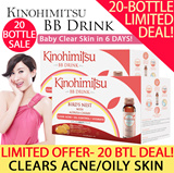 *LIMITED OFFER* Kinohimitsu BB Drink x 20 bottles [While Stocks Last] *Highly Reviewed and Rated - 100% Genuine Bird Nest