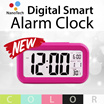 Nanotech Digital Alarm Clock / Big Screen LED Light Sensor Control / Smart Digital Alarm Clock