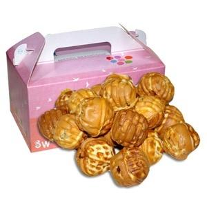 【韓国食品・韓国菓子】健康でおいしい!■韓国食品■ホドウ菓子10個入り★韓国お菓子(クルミ入り)★の画像