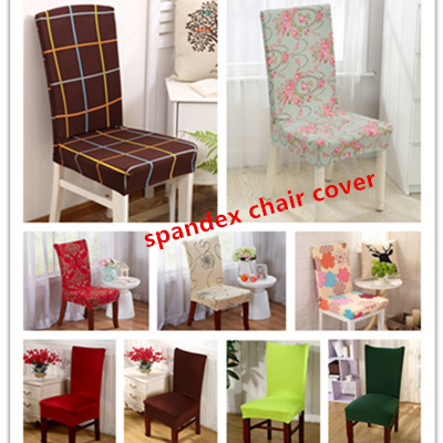 Universal Polyester Spandex Dining Chair Cover/Home Wedding Party Chair Cover Deals for only S$10 instead of S$0