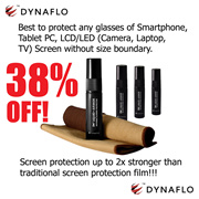 Screen Protector for all Glass Screen - [DYNAFLO] Liquid Armor