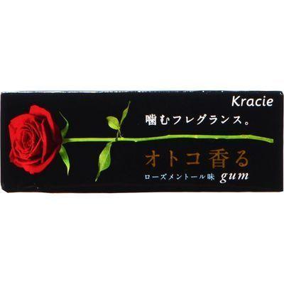 クラシエフーズ【ケース販売】オトコ香るガムローズメントール味6粒×21個E502474H