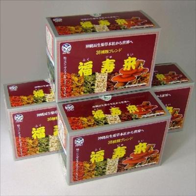 【送料無料】福寿来 ティーバッグ 30包×4箱 野草38種 ハーブティ ブレンド茶 沖縄健康茶の画像