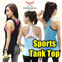 [SweetangelShop]*Local Seller/Local Exchange* - Sports Tank Top - Yoga Gym Running Zumba