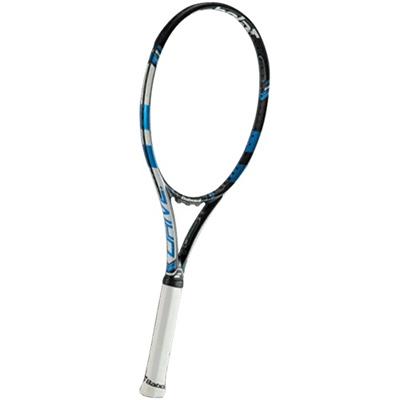 ◆即納◆バボラ(Babolat) ピュアドライブ プラス/PURE DRIVE + 101235 BLU 【ガット張り加工が超お得 硬式 テニスラケット 未張り上げ ケース付き】の画像