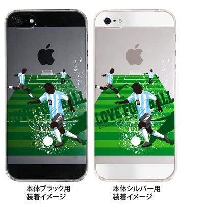 【アルゼンチン】【iPhone5S】【iPhone5】【サッカー】【iPhone5ケース】【カバー】【スマホケース】【クリアケース】 10-ip5-spo-04の画像