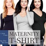BRANDED Maternity Tshirt_High Quality_Comfortable Material_Busana Wanita_Top_Tshirt_Kaos Hamil_Tshirt hamil_blouse_
