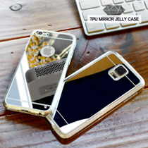 [Q-commerce] CC Mirror Jelly Case ★Release! S7/Edge★ Note 5 Galaxy S6 Edge S4 S5 S3 Note 2 3 4 Edge Apple iPhone5S iPhone 6 / iPhone 6 Plus / LG G4 G5 V10 Smart Phone Casing Earphone Film