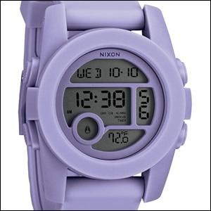 NIXON ニクソン 腕時計 A490-1366 ユニセックス THE UNIT 40 ユニット PASTEL PURPLE パステルパープルの画像