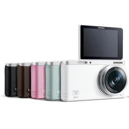 Samsung NX Mini + 9-27mmレンズ + 16GB メモリーカード 20.5MP CMOS スマート WiFi NFC コンパクト交換可能レンズ デジタルカメラ