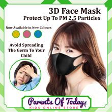 2nd Gen. Reusable Face Mask|Haze Mask|Mouth Mask|Charcoal Mask|PM2.5 Mask|Anti-Dust-3D Mask