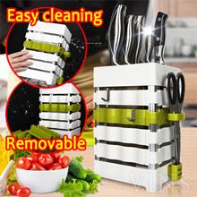 knife kitchen utensils multi-function kitchen shelving / knife seat tool holder / kitchen knife rack