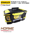 [STANLEY] 2 IN 1 CLICK  CONNECT + BOX STST19900