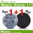 [100% Authentic from KOREA] ★April Skin★ Magic Stone soap (original black) 1+1 Event / Only 1 Shipping Charge~