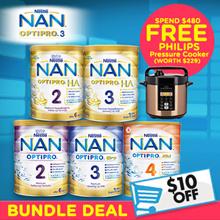 [Nestle] 【INSTANT $10 OFF! FREE QXDELIVERY!】NAN OPTIPRO/ HA -Premium Hypoallergenic Formula Milk
