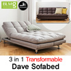 [48%OFF TIEME][BLMG_SG]Dave Sofa★1910mm ★Stitch★Leather★Couch★Fabric★Bed★Furniture★Living room sofa★