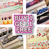 [buy 1 get 1 free]scarf 5pcs gift pack high quality trendy hair ties hair band bracelet hairtie hairbands scarfs