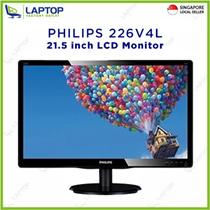 PHILIPS 226V4L 21.5-inch LCD Monitor [Brand New ]