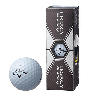 キャロウェイ (Callaway) LEGACY BLACK(レガシーブラック)ボール3個入り LEGACYBLACK [分類:ゴルフ ボール]の画像