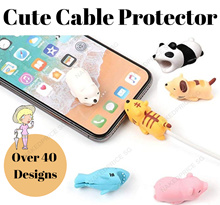 ★ Cute Cable Protector ★ For All Phone Models  ★