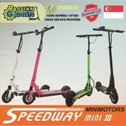 ★Authorized Seller★LTA Compliance★Speedway3 Mini Passion Light 2.0 Passion8 Goboard Electric Scooter