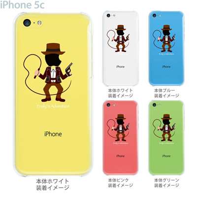 【iPhone5c】【iPhone5c ケース】【iPhone5c カバー】【ケース】【カバー】【スマホケース】【クリアケース】【クリアーアーツ】【MOVIE PARODY】【冒険家】 10-ip5c-ca0030の画像