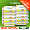 ◆Special Price◆Noblemom wet wipes Embo 80sheet refill 10pack/baking soda/pink blue/ wet tissue/KIDS/wet tissue/super sale/Baby wipes/made in Korea/kitchen/cleansinng tissue/camping/Frying Pan/In SG