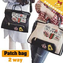 【予約】【送料無料】カンバスレディースファッションバッグ/ハンドバッグ/通勤/通学/かばん/ 2 colors-DJNP73 model