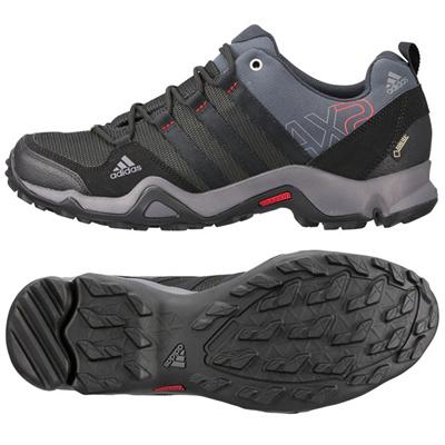アディダス (adidas) AX2 GTX(ダークシェール×ブラック×ライトスカーレット) Q34270 [分類:トレッキングシューズ (メンズ)] 送料無料の画像
