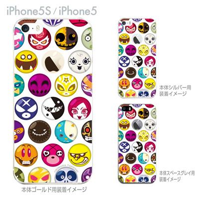 【iPhone5S】【iPhone5】【HEROGOCCO】【キャラクター】【ヒーロー】【Clear Arts】【iPhone5ケース】【カバー】【スマホケース】【クリアケース】【アート】 29-ip5s-nt0026の画像
