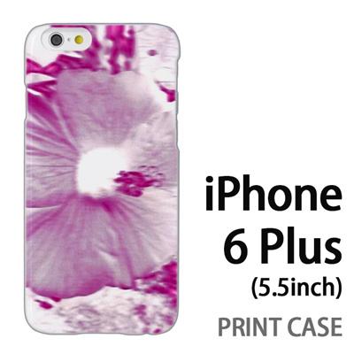 iPhone6 Plus (5.5インチ) 用『No3 ネガ 花アップ』特殊印刷ケース【 iphone6 plus iphone アイフォン アイフォン6 プラス au docomo softbank Apple ケース プリント カバー スマホケース スマホカバー 】の画像