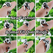 New Fashion Animal Fit Over Rings | Wrap Over Rings | Free Size