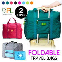Premium Foldable Luggage Bag Korea Style Holiday Travel Bag Tour