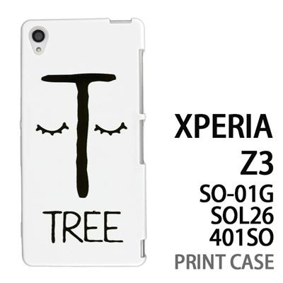 XPERIA Z3 SO-01G SOL26 401SO 用『0623 「T」』特殊印刷ケース【 xperia z3 so01g so-01g SO01G sol26 401so docomo au softbank エクスペリア エクスペリアz3 ケース プリント カバー スマホケース スマホカバー】の画像
