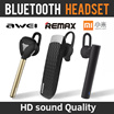 Bluetooth 4.1/4.0 wireless headset iphone 7 Remax Xiaomi Awei Mini 7 lightweight and long standby time and convenient to use for business sports
