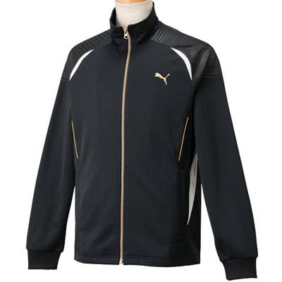 ◆即納◆プーマ(PUMA) メンズ トレーニングジャケット 902966 01 ブラック 【トレーニングウェア ジャージ ランニング アウター】の画像