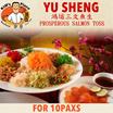 [Kims Place]  CNY YU SHENG For 10 Pax ! Using the best ingredients| YuSheng Take away only!