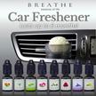 FREE 1 x REFILL!! ❤NEW❤❤ BREATHE Car Freshener ❤❤Lavender/Ylang Ylang/Rose/Lemongrass/Floral/Grapefruit Lime ❤