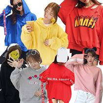 スウェット🉐東大門価格🉐フードパーカー上下セットアップルームウェア★パジャマリラックス旅行ヨガ★体型カバー韓国ファッション