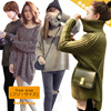 ☆Winter Up Style◆Korean St. Casual Loose Fit Knit sweater for women◆Korean Styling Warm Fashion for Women/ 6 styles - many colors/ Free size