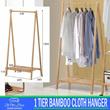 [PROMO JUAL RUGI] Gantungan Baju Bamboo 1T